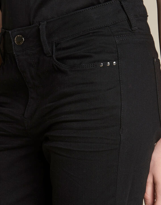 Schwarze 7/8-Slim-Fit-Jeans Vendome PhotoZ | 1-2-3