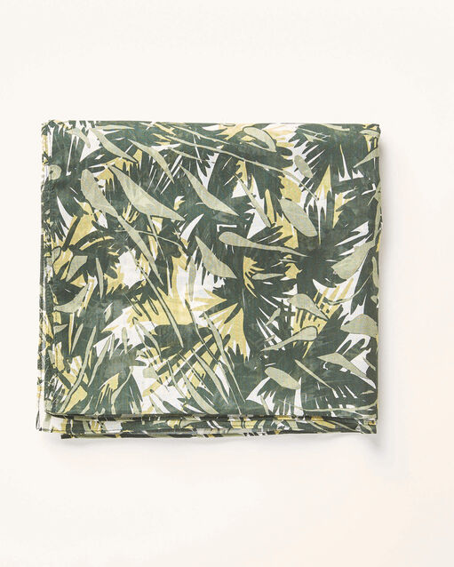 Foulard kaki imprimé camouflage Alo (2) - 1-2-3