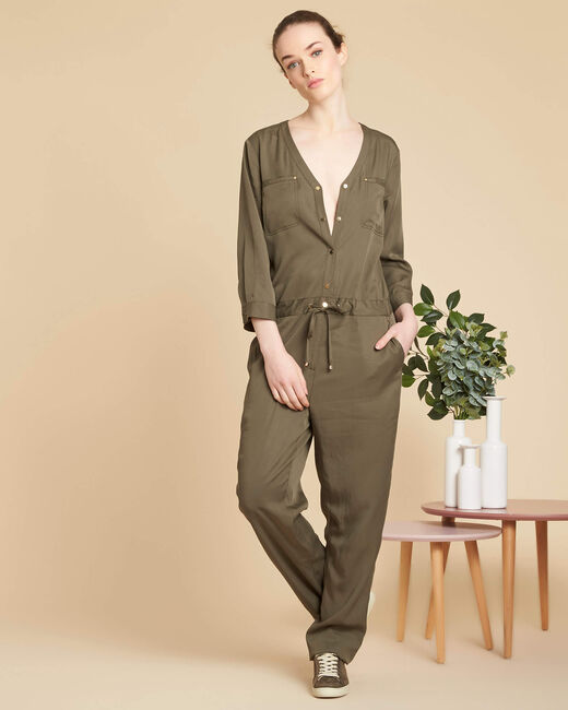 Palace soft khaki jumpsuit (2) - 1-2-3