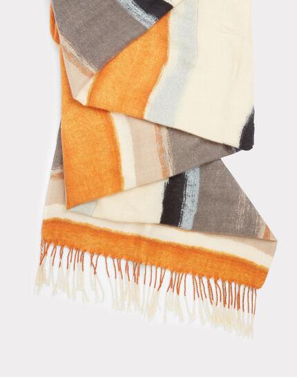 Streifen-Schal mit Fransen Elicia (2) - 1-2-3