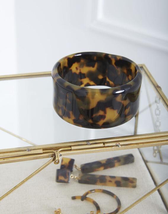 Armband aus Kunstharz-Schildpatt Tiffaine PhotoZ | 1-2-3