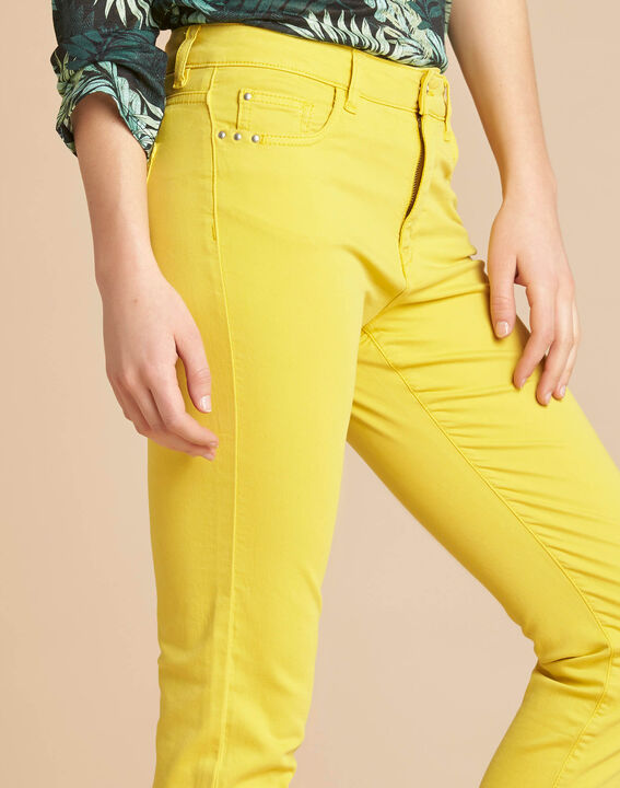 Jean slim citron taille normale Vendome PhotoZ | 1-2-3