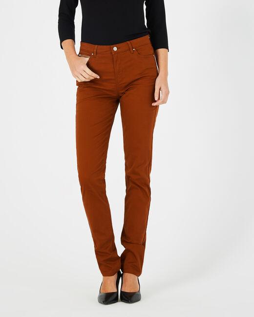 Toffeefarbene Slim-Fit-Jeans William (1) - 1-2-3