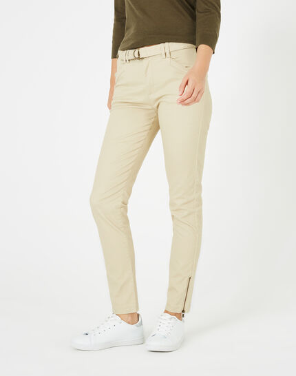 Kloe camel 7/8 length trousers PhotoZ | 1-2-3
