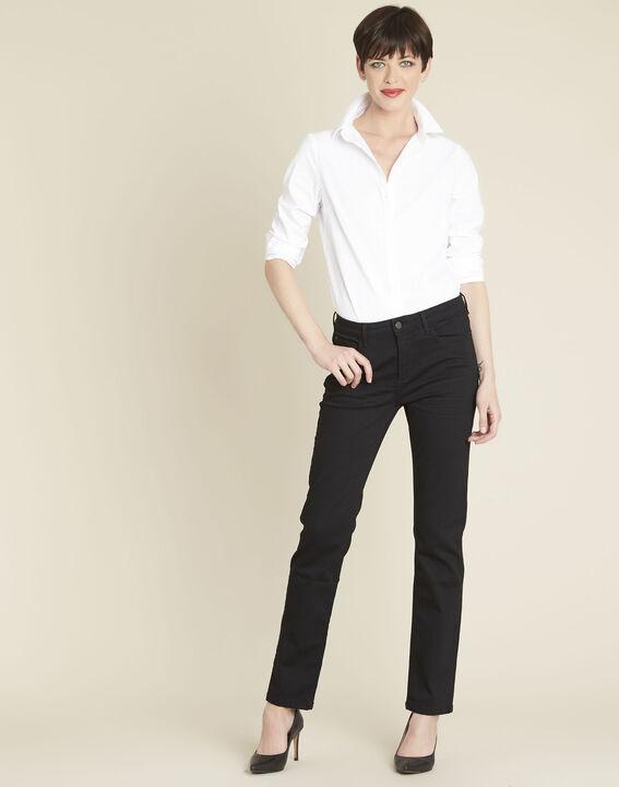 Zwarte straight-fit jeans Vivienne (2) - 37653