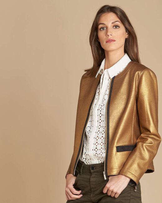Festive jacket with grosgrain detailing (2) - 1-2-3