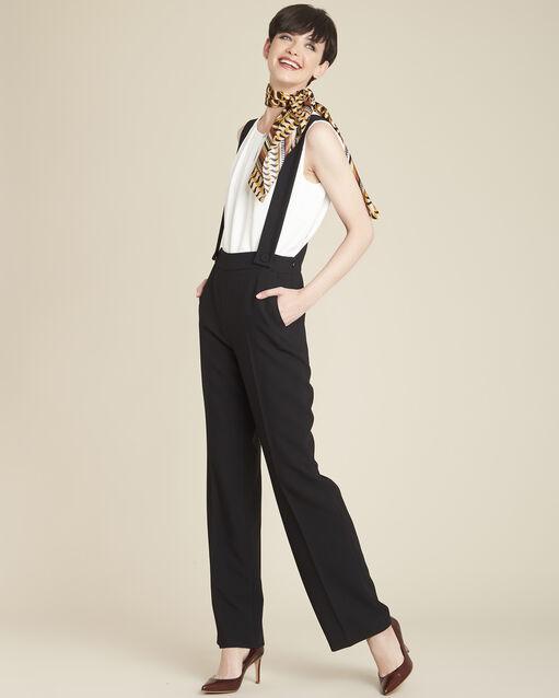Pantalon à bretelles noir Hamlet (2) - 1-2-3