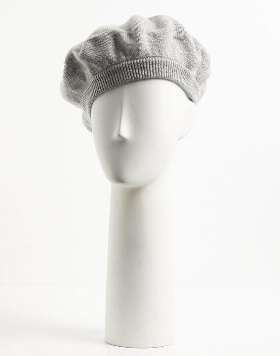 Graue Baskenmütze aus Kaschmir Ustave (2) - 1-2-3