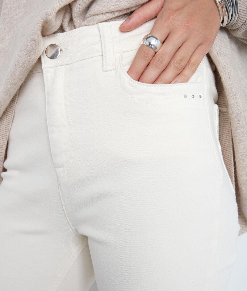 L'iconique slim Suzy en coton bio ivoire  PhotoZ | 1-2-3