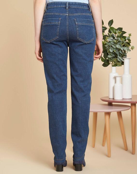Venice high-waist dark indigo jeans (4) - 1-2-3