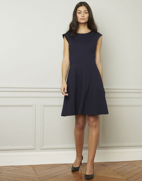 Dea navy milano dancing dress (2) - Maison 123