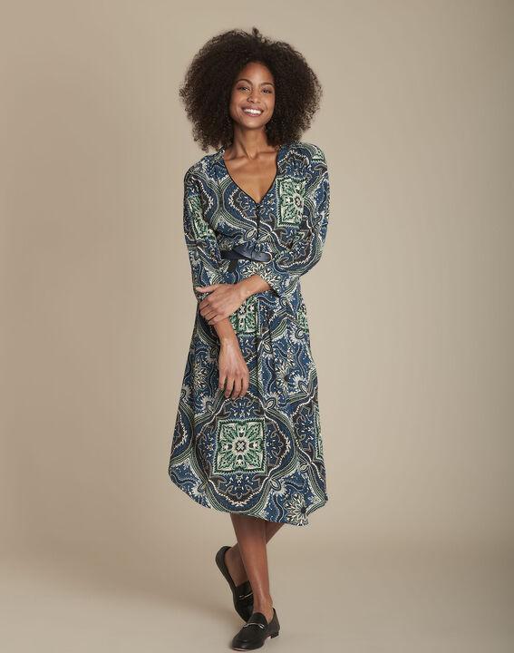 Robe imprimé cachemire Ida PhotoZ | 1-2-3