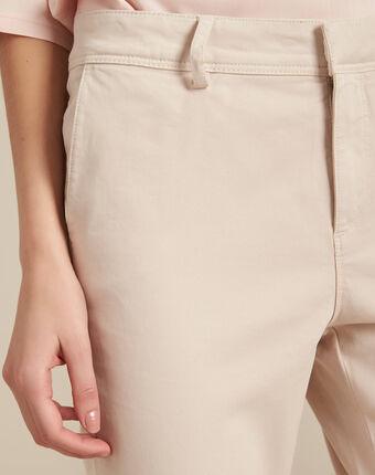 Pantalon nude chino jacob peche.