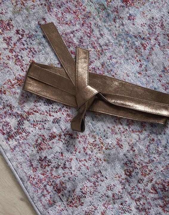 Ceinture large bronze en cuir à nouer Raul PhotoZ | 1-2-3
