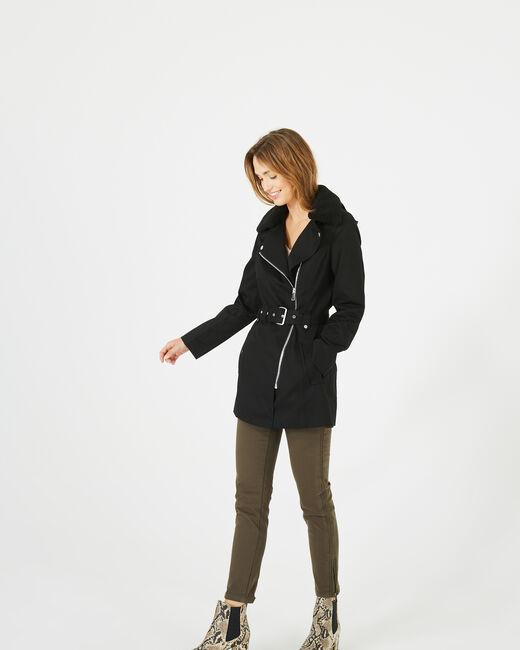 Parka noire Jenna (1) - 1-2-3