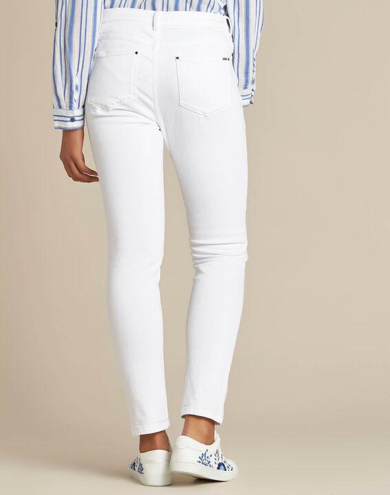 Vendôme white 7/8 length jeans (4) - 1-2-3