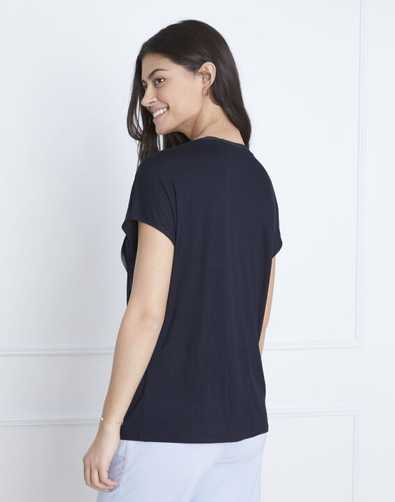 Marineblaues T-Shirt Pittsburgh (4) - Maison 123