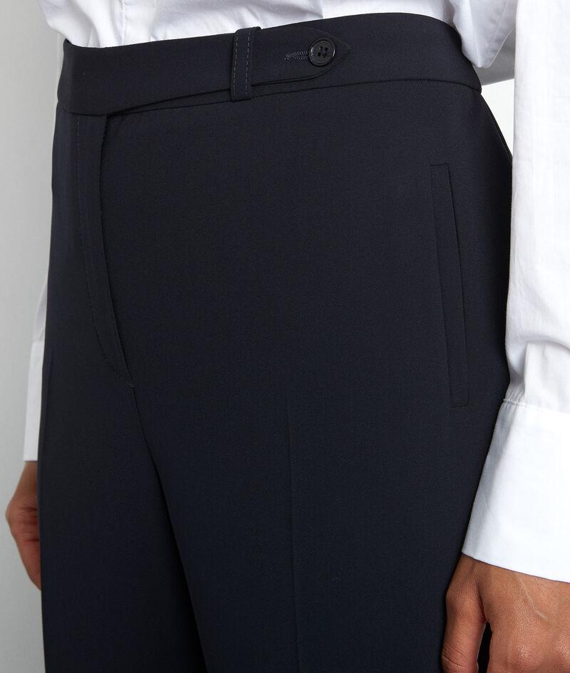 Anzughose mit geraden Beinen marineblau Lara PhotoZ | 1-2-3