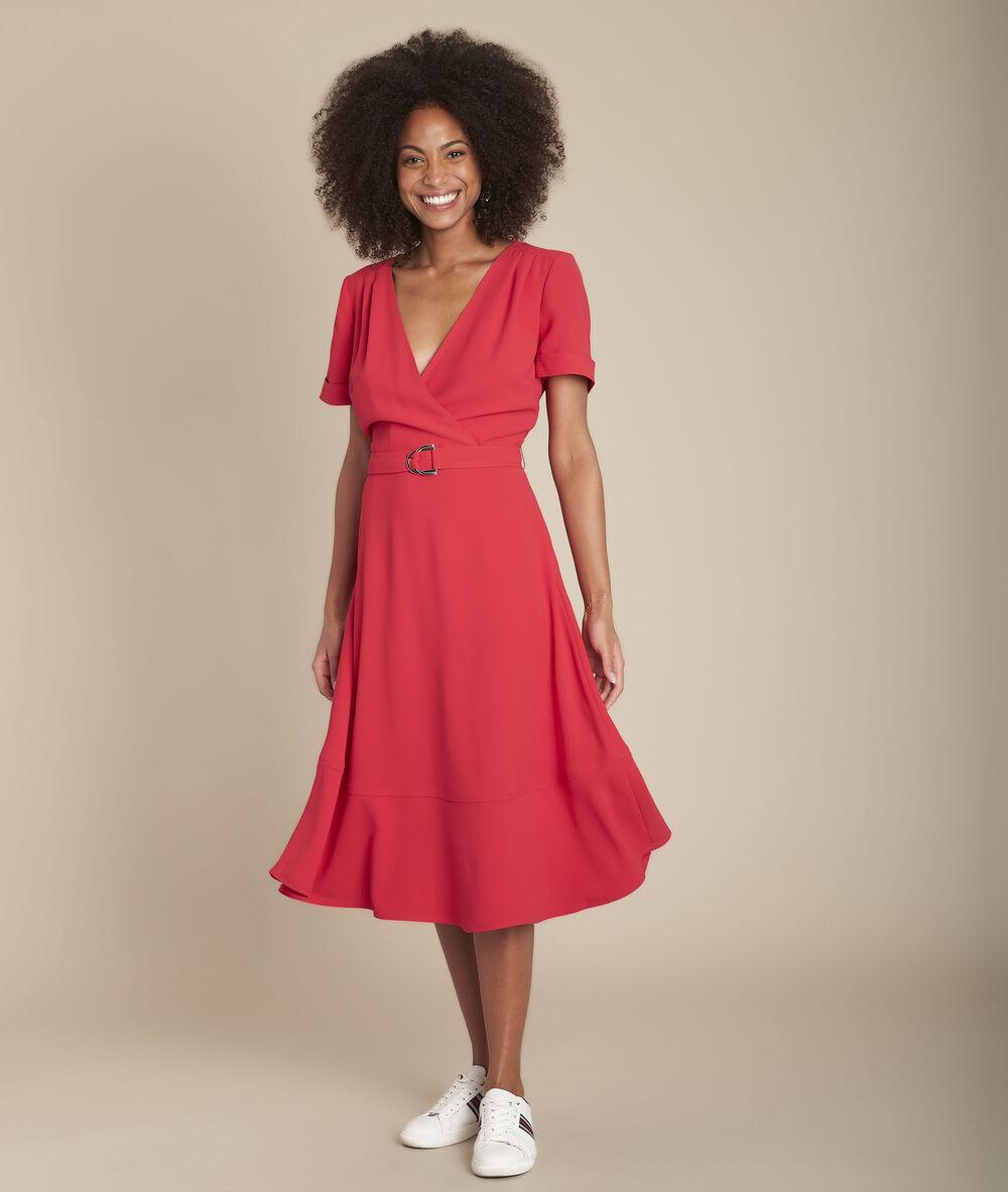 Robe Cache Cœur Dansante Rouge Risia Femme Maison 123