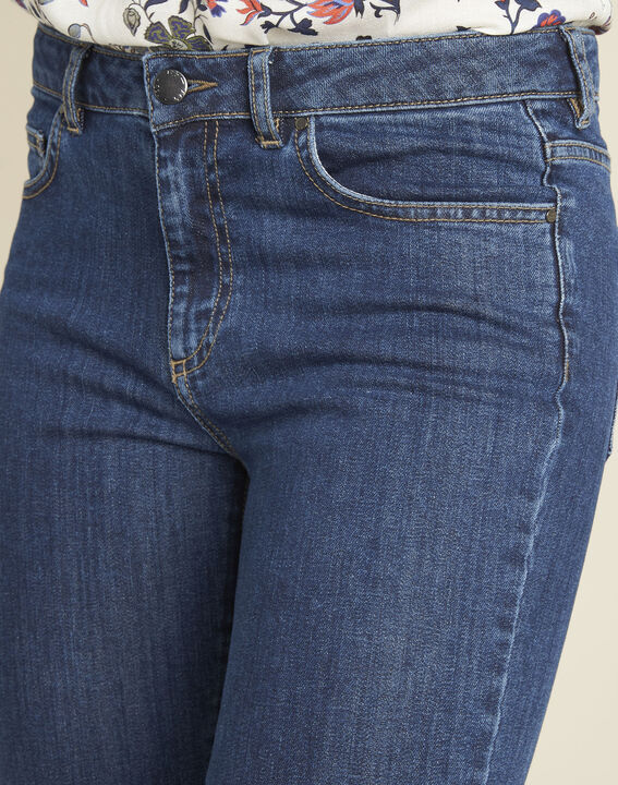 Onbewerkte wijd uitlopende 7/8-jeans Victor (3) - 37653
