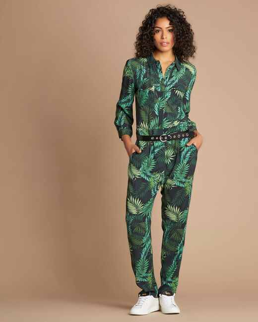 Pacome palm-printed jumpsuit (1) - 1-2-3