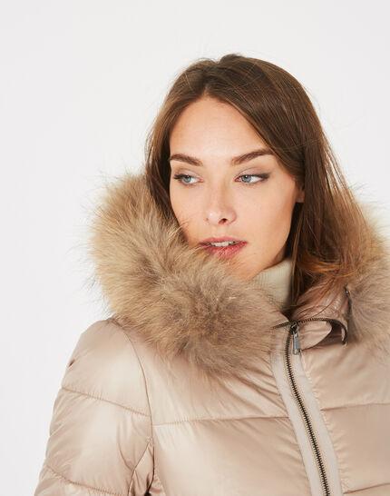 Lena short beige puffer jacket (2) - 1-2-3