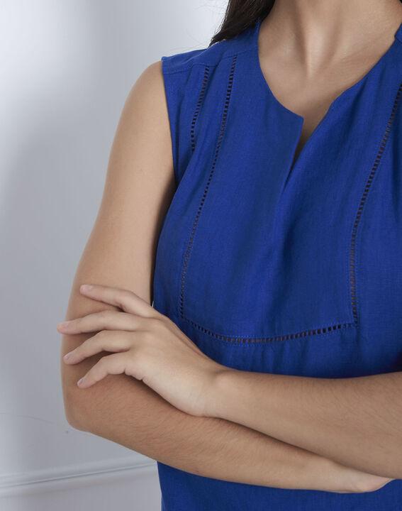 Robe bleue encolure décorée Lolita (3) - Maison 123