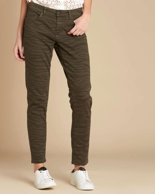 Passy zebra print slim-cut jeans (2) - 1-2-3