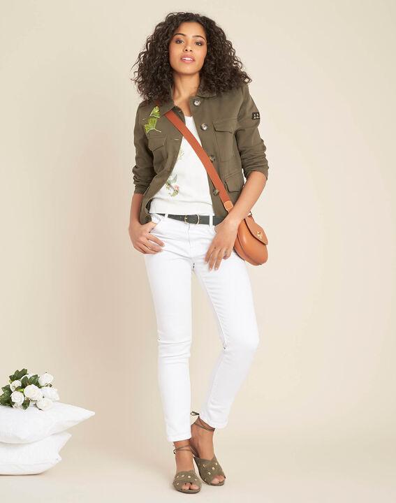 Witte trui met bloemenprint Nouette (2) - 37653