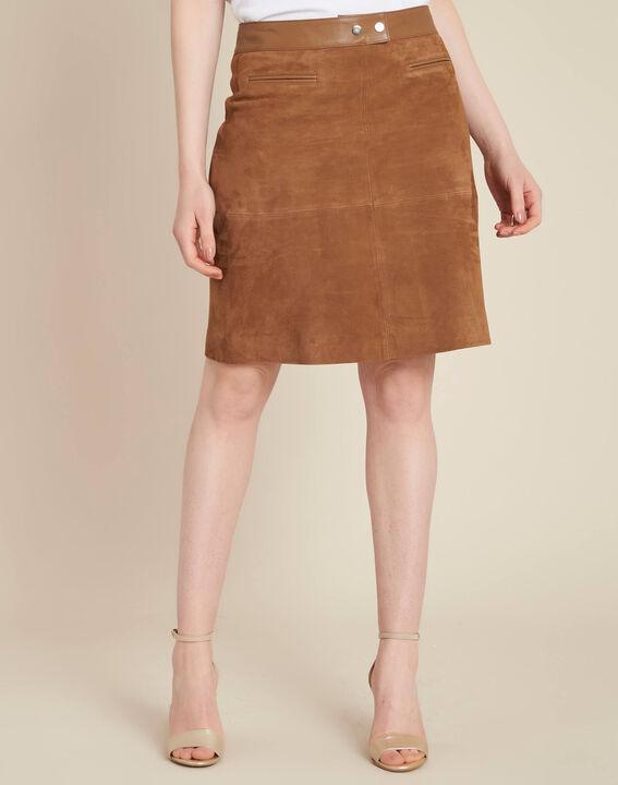 Lissandro camel leather skirt (3) - 1-2-3