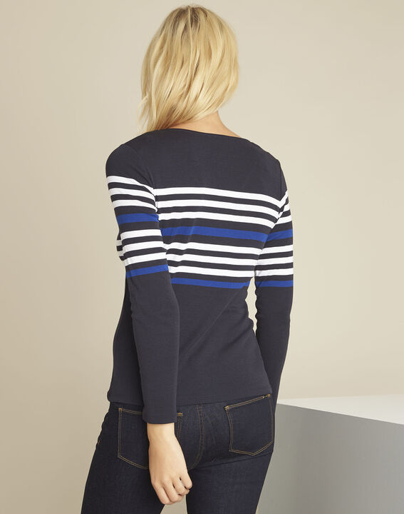 Gayure navy striped t-shirt (4) - Maison 123
