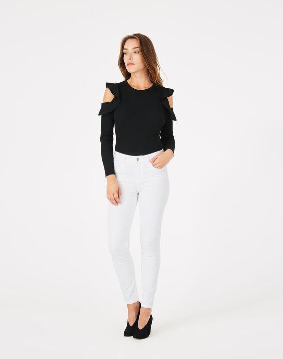 Pantalon blanc 7/8ème Oliver (3) - 1-2-3