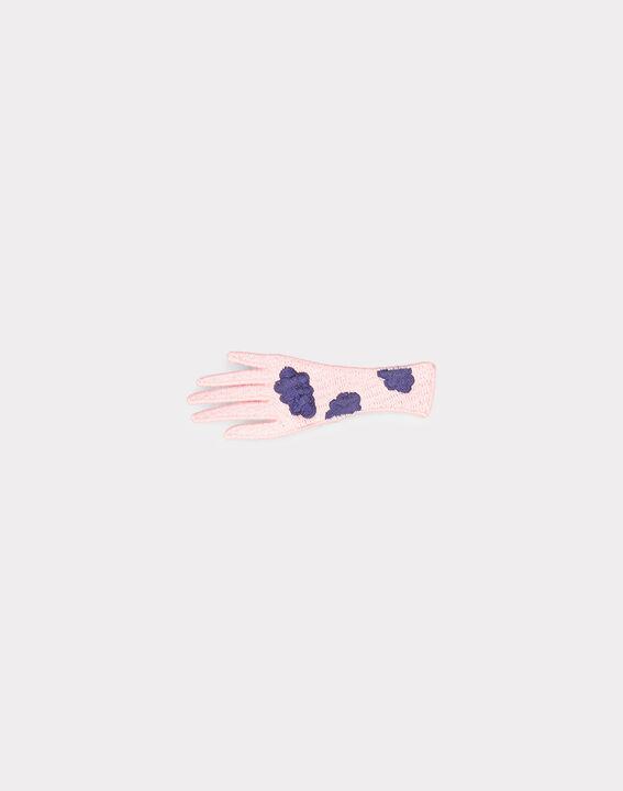 Broche rose pâle Irose PhotoZ | 1-2-3