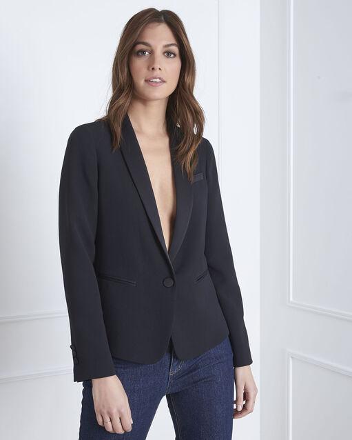 Veste noire tailleur Sabrina (2) - 1-2-3