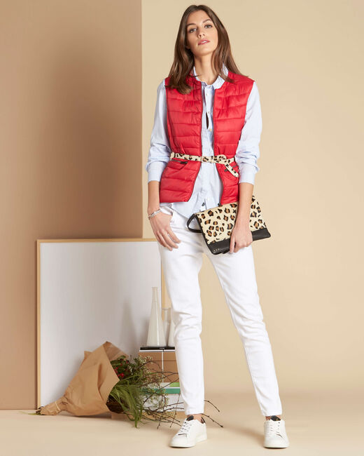 Geborduurde blouse met strepen Delinda (1) - 37653