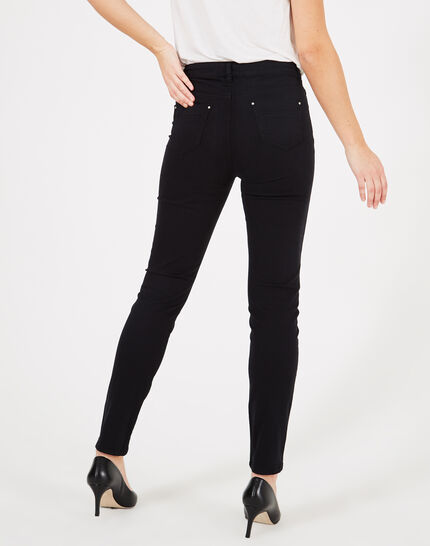 Oliver 2 black ⅞-length trousers (2) - 1-2-3