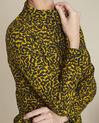 Ravel yellow leaf print shirt (3) - 1-2-3