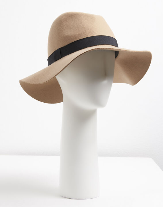 Chapeau en feutre laine Uma PhotoZ | 1-2-3