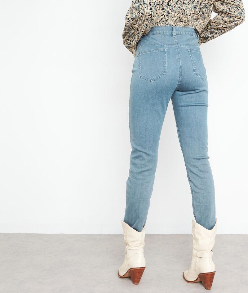 Jean slim en coton bleu gris Nevada PhotoZ | 1-2-3