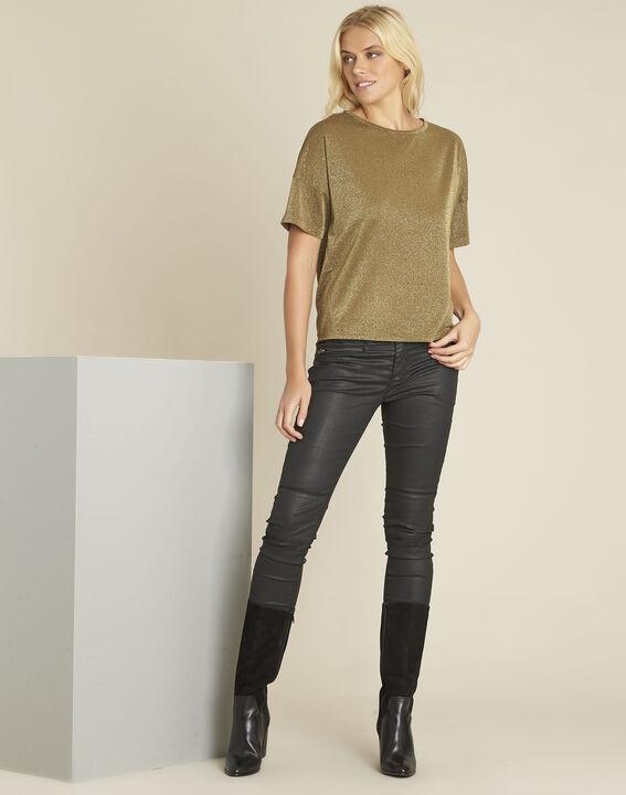 Schwarze Slim Jeans im Biker-Stil Turenne (2) - 1-2-3