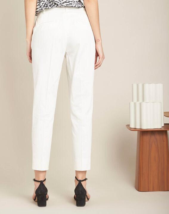 Rubis ⅞-length ecru trousers (4) - 1-2-3