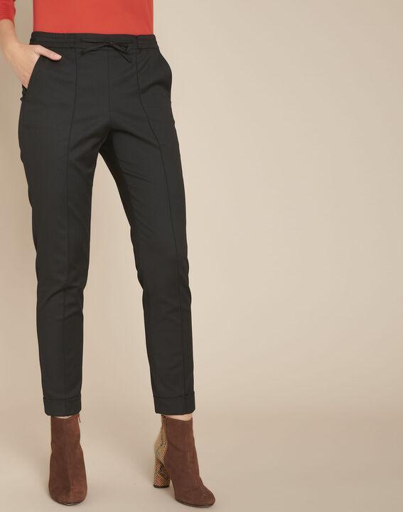 Pantalon jogging noir envol