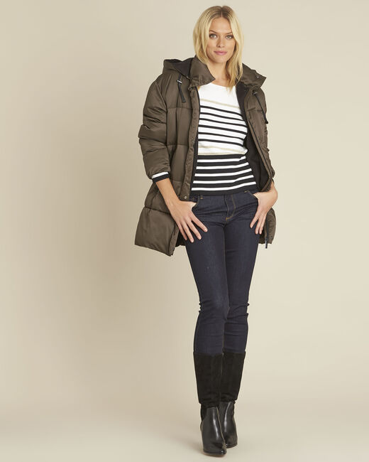 Boussole striped ecru pullover (1) - 1-2-3