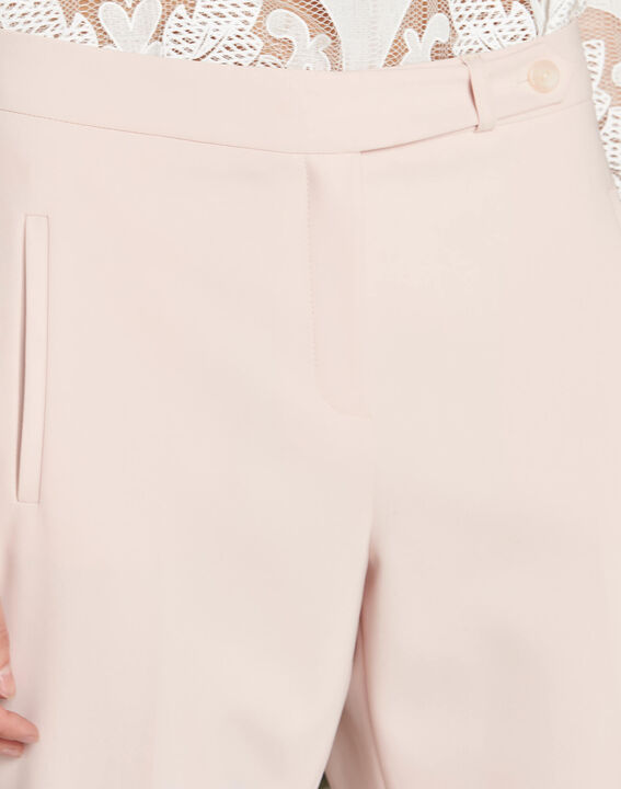 Pantalon nude de tailleur slim Lara PhotoZ | 1-2-3