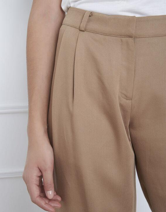 Pantalon beige large Giovanni (3) - Maison 123