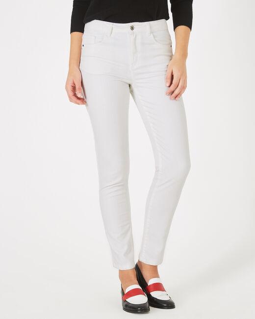 Pantalon 7/8ème blanc Oliver (2) - 1-2-3