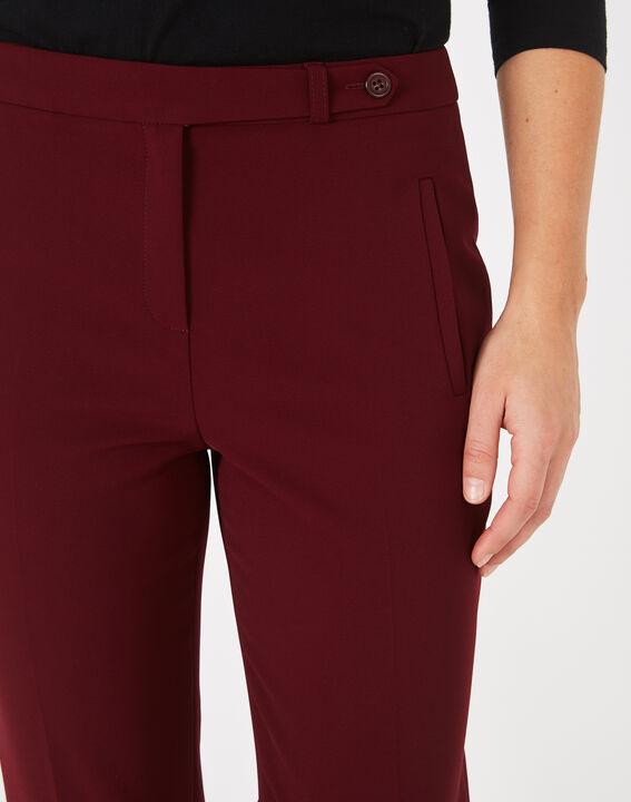 Pantalon de tailleur cassis Lara (4) - 1-2-3