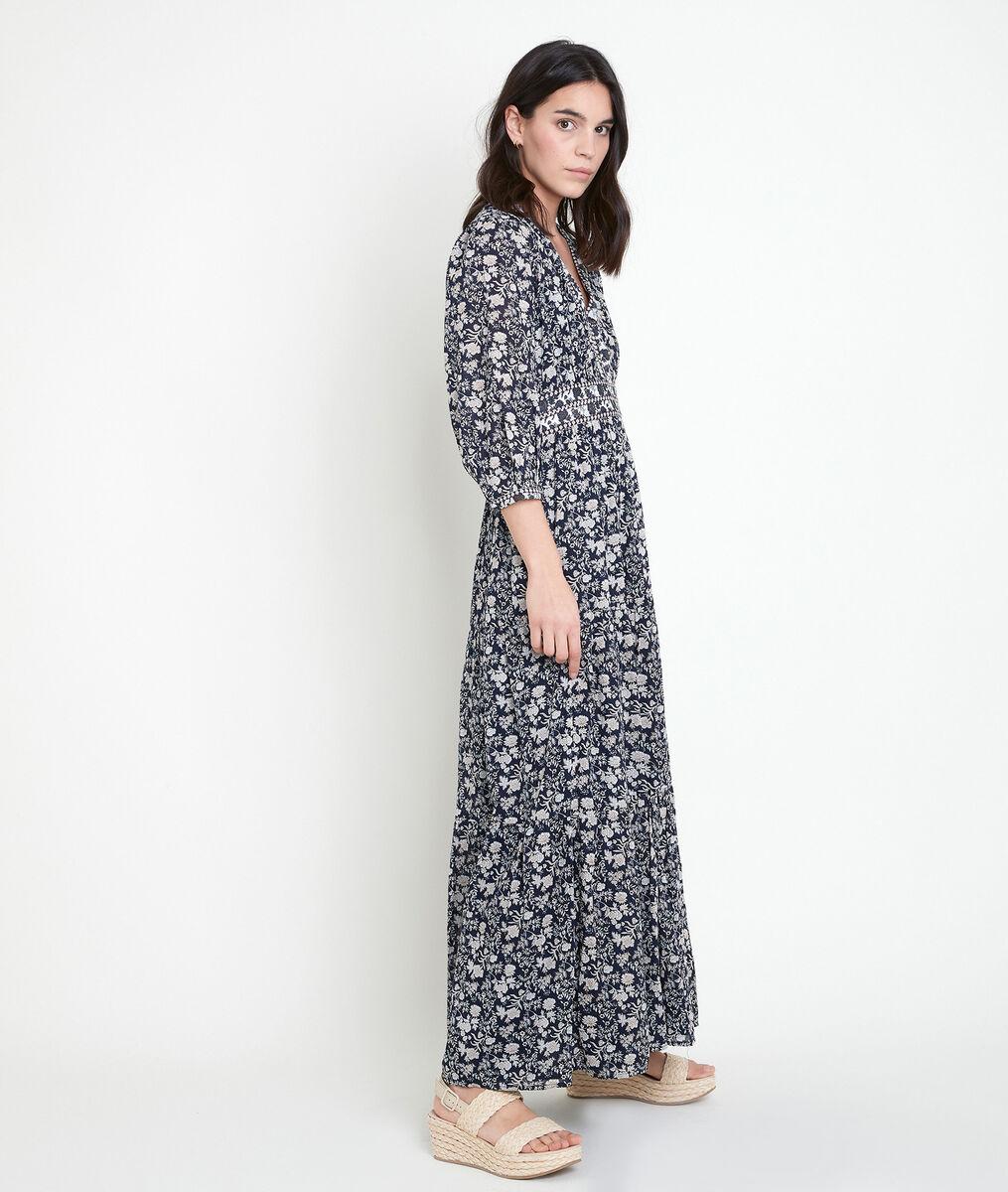 Robe longue imprimée Loanne PhotoZ | 1-2-3