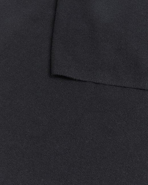 Echarpe noire en cachemire Felicia (2) - 1-2-3