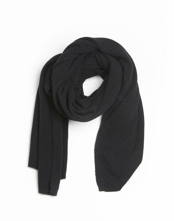 Zwarte sjaal van kasjmier Felicia PhotoZ | 1-2-3